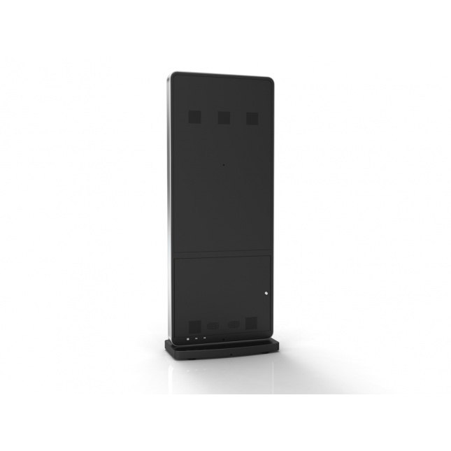 Slimline Freestanding Digital Totem