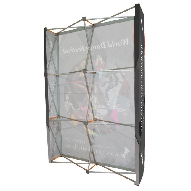 3 x 2 Hop Up Fabric Display Stand