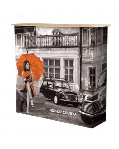 Hop-up Counter Fabric Display