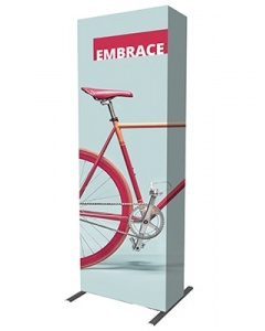 3 x 1 Fabric Pop Up Exhibition Stand