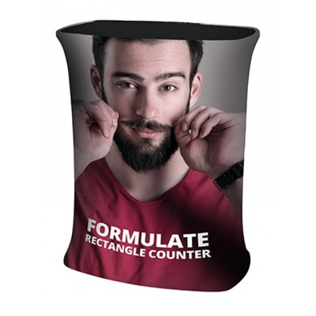 Formulate Rectangular Tension Fabric Counter image