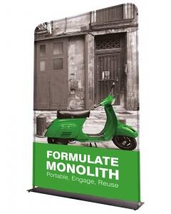 Formulate Monolith Fabric Display