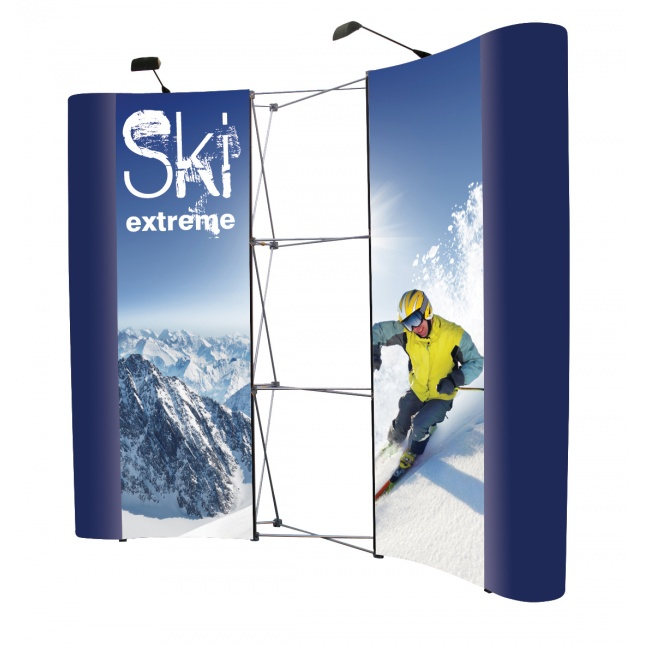 3x3 Pop Up Display Stand