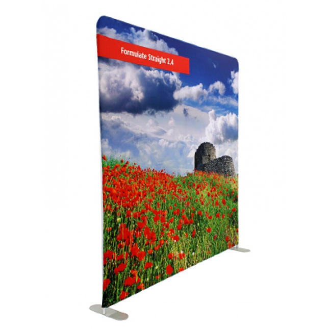 Fabric Exhibition Stand Here : Formulate straight fabric exhibition stand displays