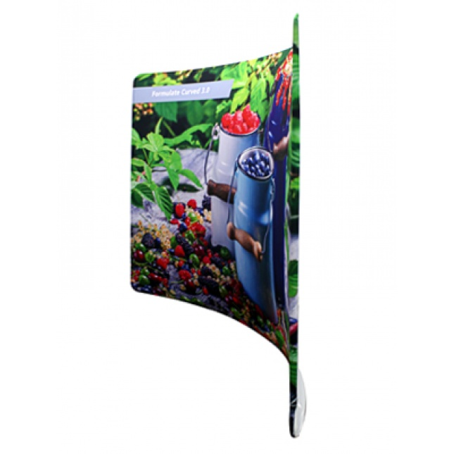 Formulate Curve Fabric Display