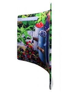 Formulate Curve Fabric Exhibition Stand 6.1m