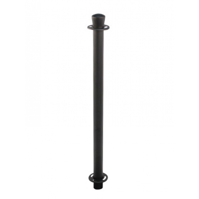 Basic Café Barrier Black Post