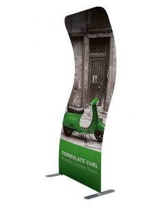 Formulate Curl Fabric Display Banner