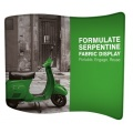Formulate Serpentine Fabric Display