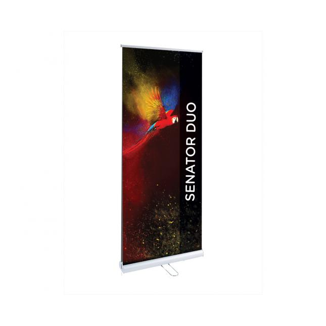 Senator Duo Double Sided Roller Banner