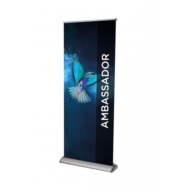 How to put up your Ambassador Duo Double Sided Roller Banner | GH Display