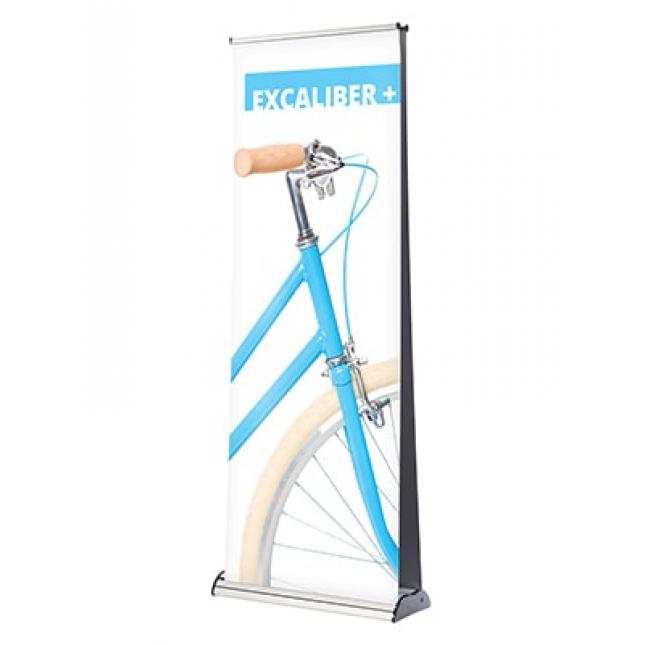 Excaliber Double Sided Banner Stand