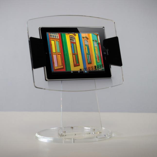 Crystal iPad Stand
