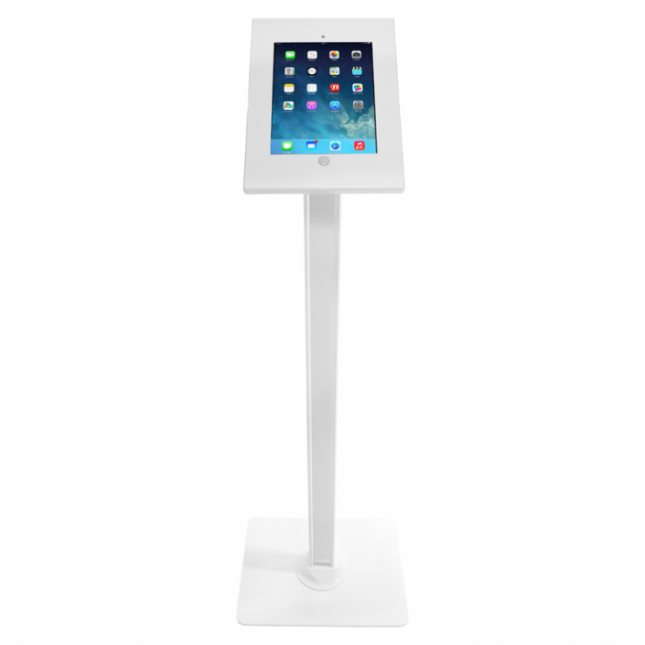 ipad stand without literature holders - Ipad Floor Stand