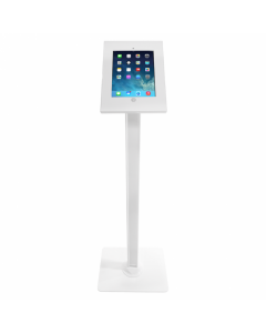 White iPad Floor Stand