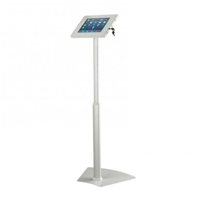 White Telescopic iPad Stand