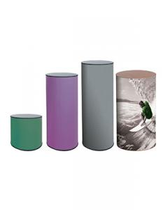 Round Display Plinths