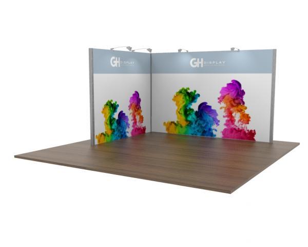 3x4 Modular Exhibition Stand