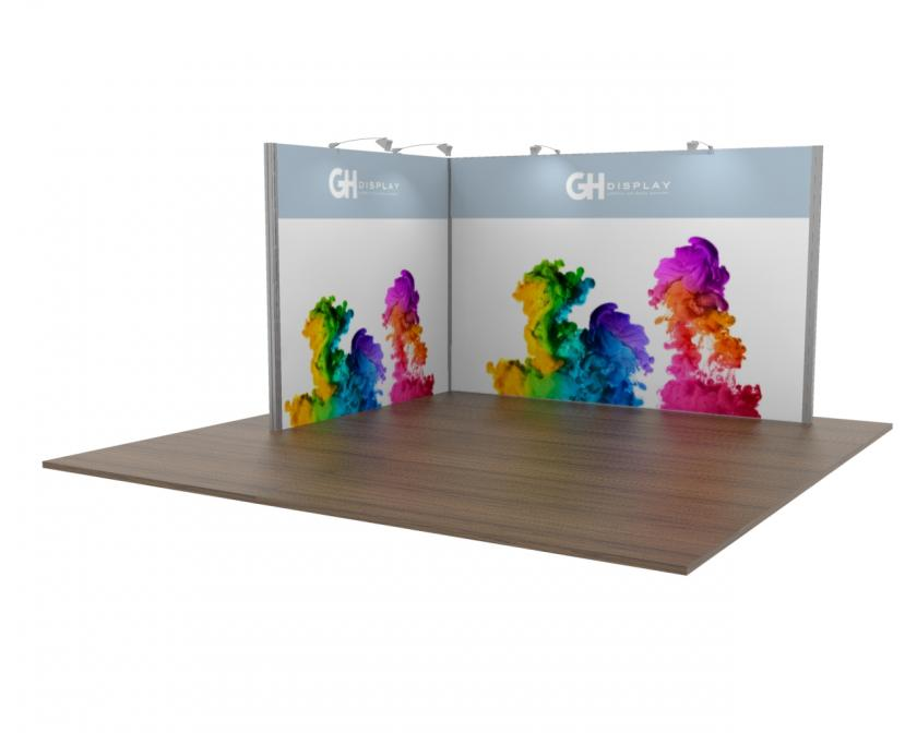 3m x 4m exhibition stand hire