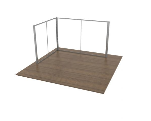 3x4 Modular Exhibition Stand Frame