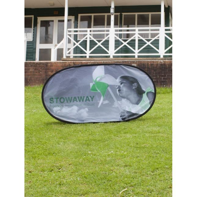 Stowaway Outdoor Banner
