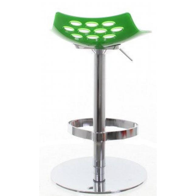 Green Select Gas Lift Stool rear