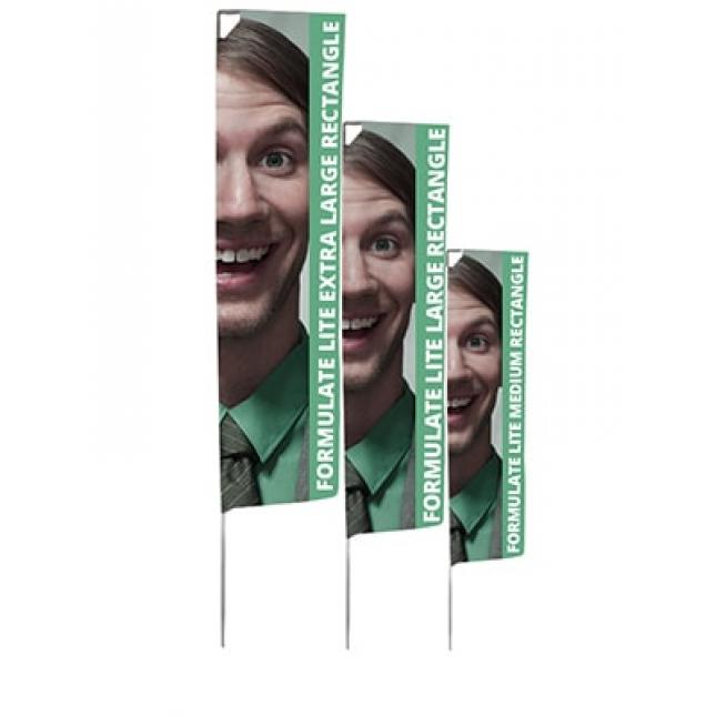 Formulate Lite Flag Rectangle all three sizes