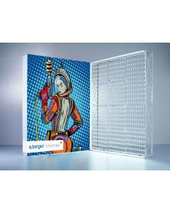 Portable Lightbox Display Straight