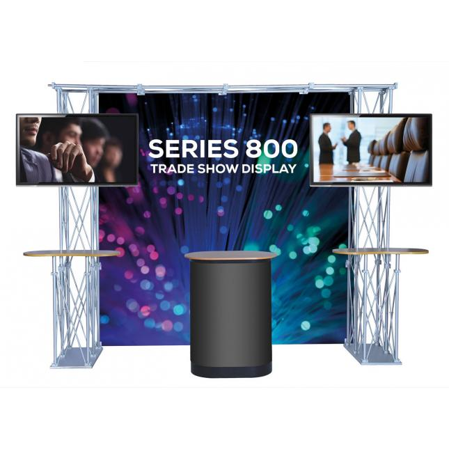 Gantry Trade Show Display Product with TV Stands