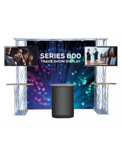 Gantry Trade Show Display with TV Stands