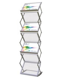 A4 Landscape Literature Stand
