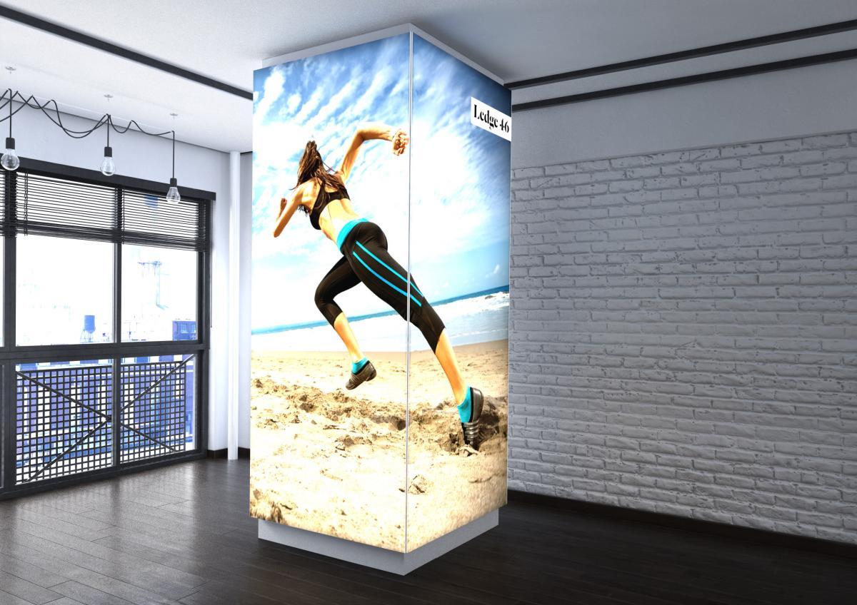 Retail lightbox