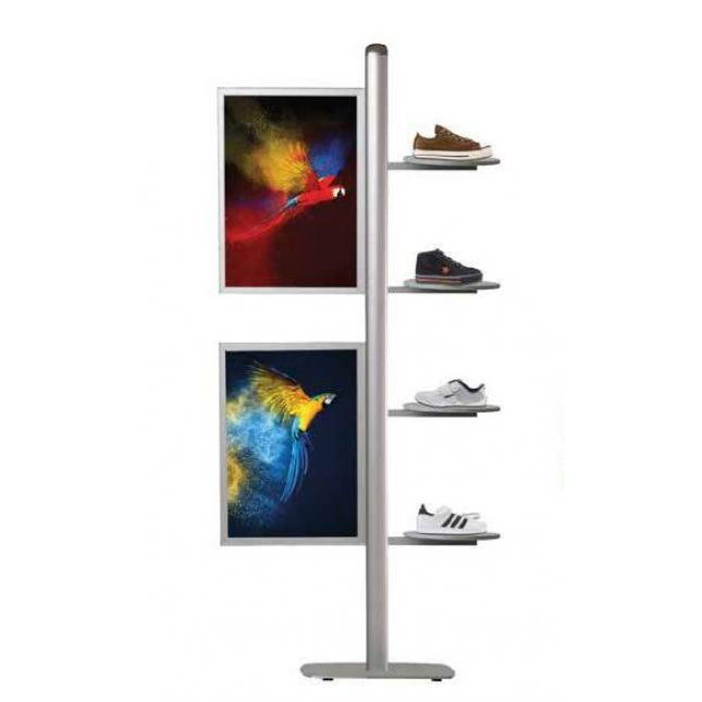 Point of sale display all attachment options