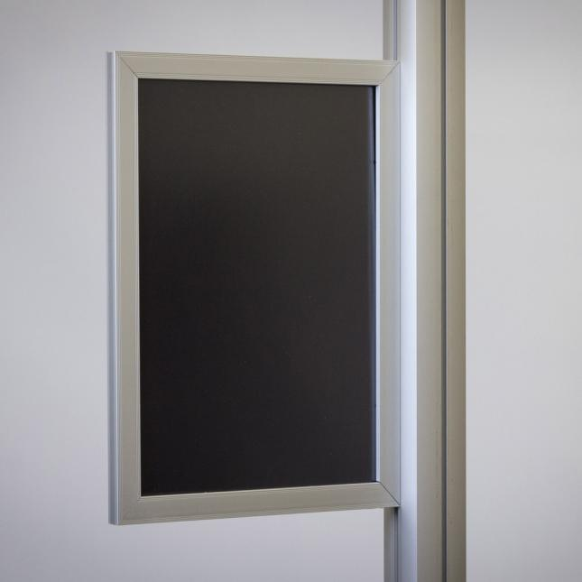 Slide in Poster Frame for Point of Sale Displays