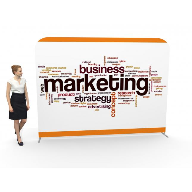 3m Straight Fabric Banners Image