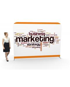 3m Straight Fabric Display Stand