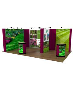 4m x 6m Pop Up Exhibition Stand