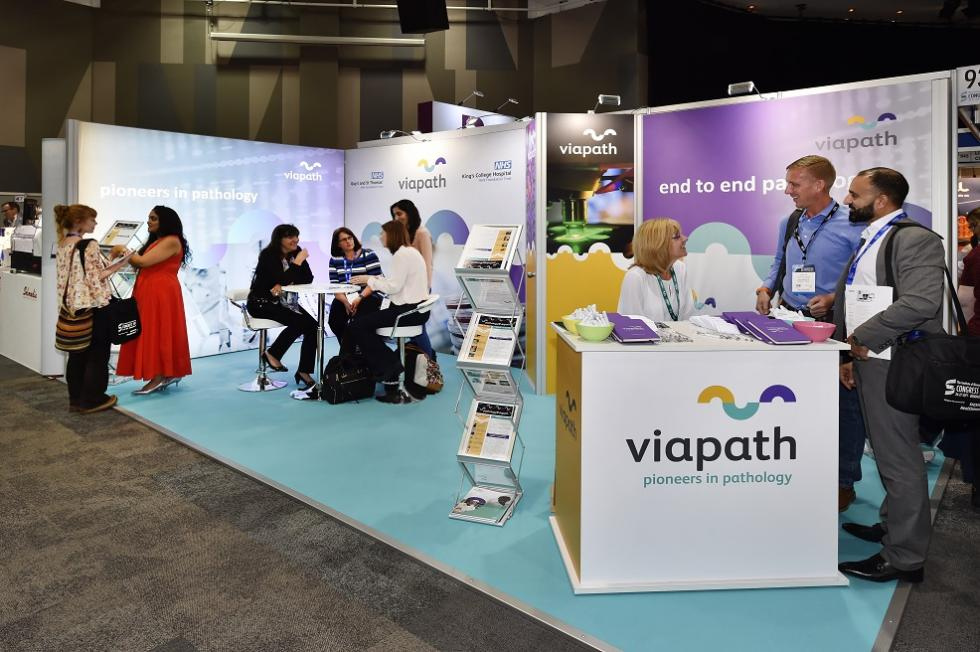 Viapath Exhibition Stand at IBMS 2017