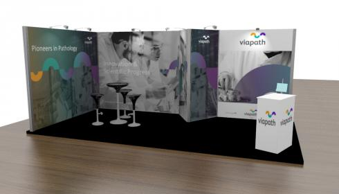Viapath Exhibition Stand Design Image
