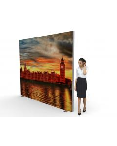 3m x 2.5m Tension Fabric Exhibition Stand
