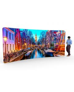 5m Curved Fabric Display Stand