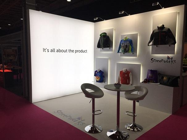 Simple Exhibition Stand Goals : Exhibition stand hire display stands for