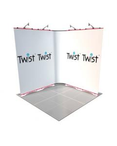 2m x 2m Twist Exhibition Display
