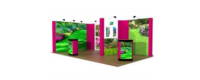 Linked Pop Up Exhibition Stands