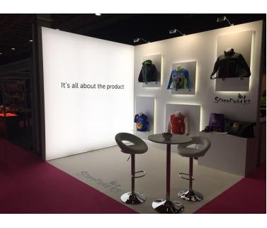 Exhibition Stand Builders Leicester : Bespoke displays lightboxes display light boxes