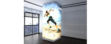 Wall Mounted Lightboxes