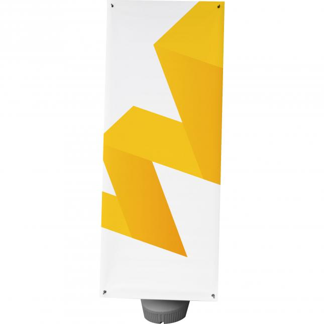 Outdoor double sided X Banner