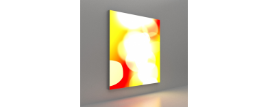 Wall Mounted Fabric Displays