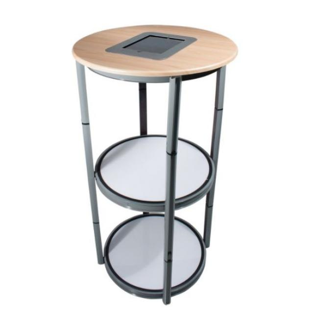 Spiral Twist Display Plinth with iPad top
