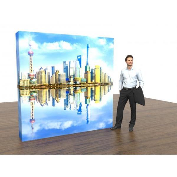 Backlit Pop Up Exhibition Stand